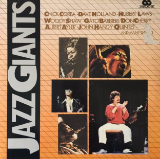 V/A - Jazz Giants (LP) (VG+/G-VG)